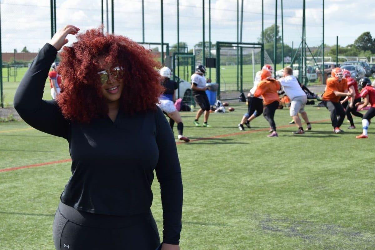 Kanessa wilde dolgraag American football spelen en dus richtte ze de Queens League op!