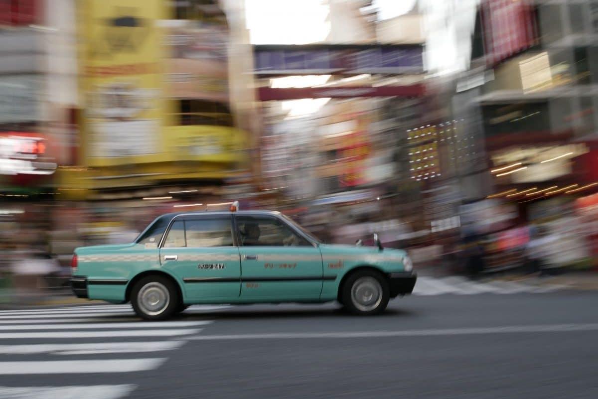 taxi Japan