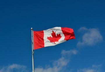vliegtuig canada oorlog vlag