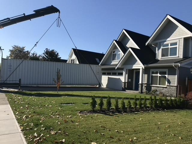 Thuis in ons nieuwe huis in Canada